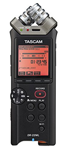 TASCAM DR-22WL -Channel Portable Studio Recorder