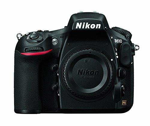Nikon D810 FX-format Digital SLR Camera Body