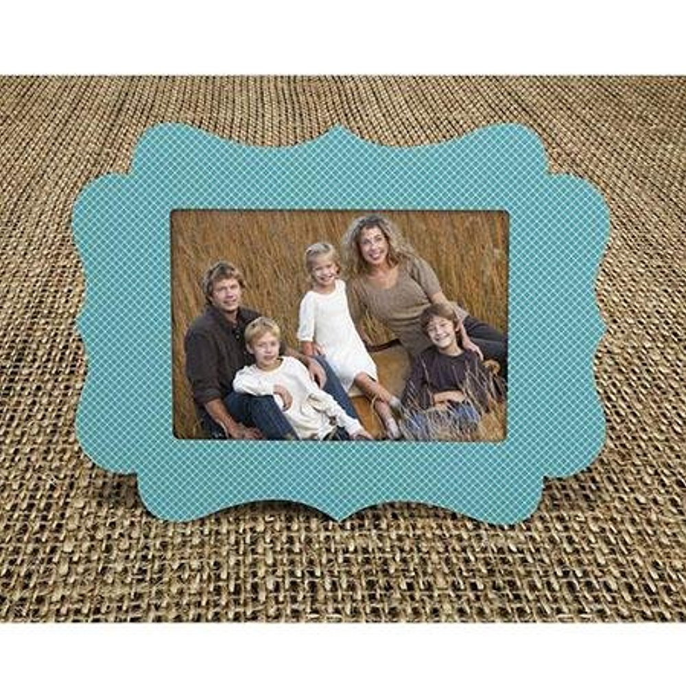 "TAP Chic Easel S1 Frame, For a 4x6"" Photo - Diamond Turquoise -(10-Pack)"