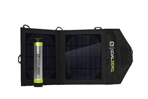 Goal Zero 41001 Switch 8 Silver/Black Solar Recharging Kit