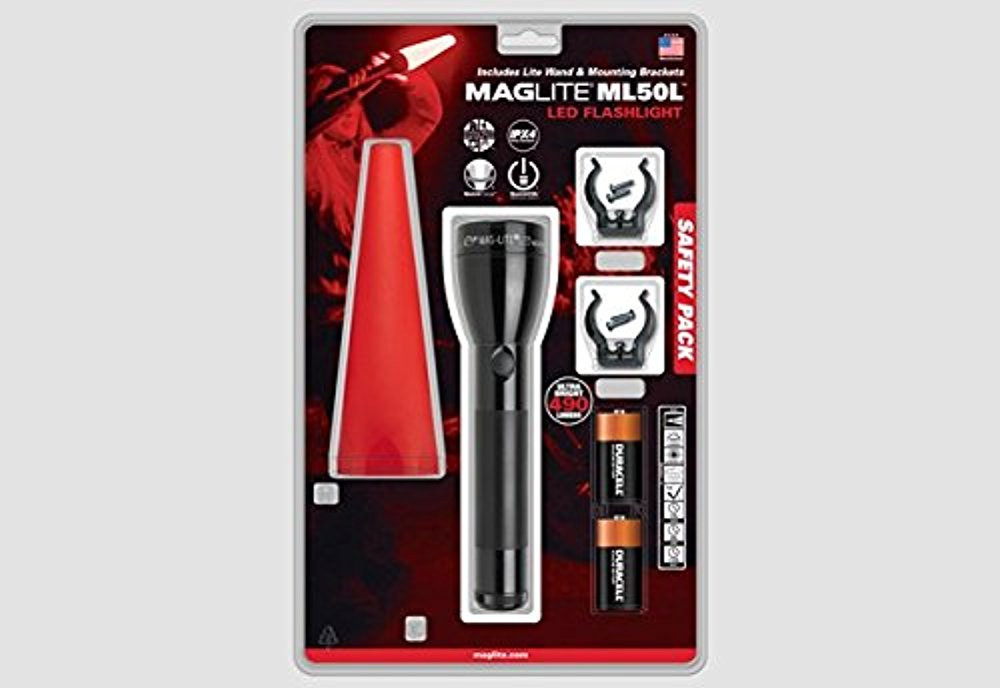 MAGLITE ML50L LED 2 C-CELL  Flashlight - Safety Pack  (181-000-362)