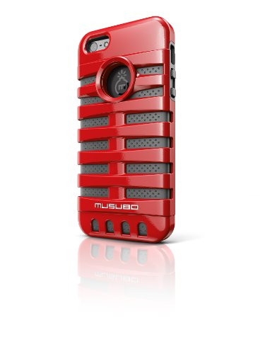Musubo MU11019RD Retro Case for Apple iPhone 5 -  Red