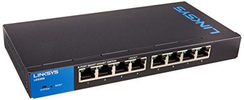 Linksys 8-Port Business Smart Gigabit Switch (LGS308)