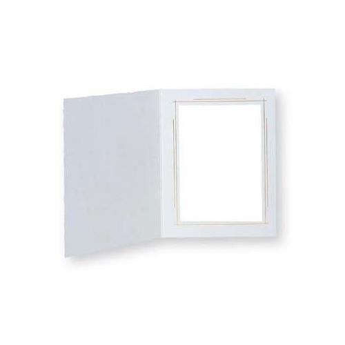 """TAP Frame Whitehouse, White / Gold, for 8x10"""" Photo (25 Pack)"""