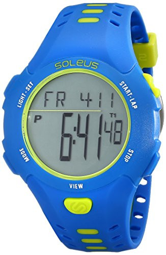 Soleus Men's SR021-452 Contender Digital Display Quartz Green Watch