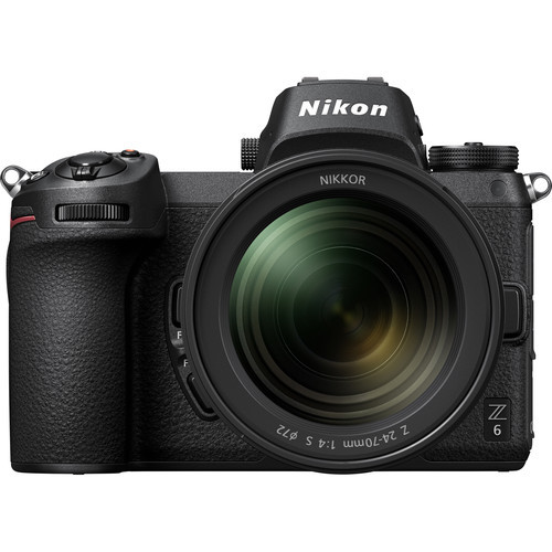 Nikon Z6 FX-Format Mirrorless Camera Body w/NIKKOR Z 24-70mm f/4 S