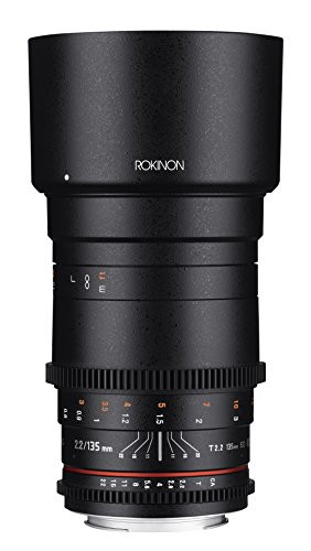 Rokinon Cine DS 135mm T2.2 ED UMC Telephoto Cine Lens for Canon EF Digital SLR Cameras