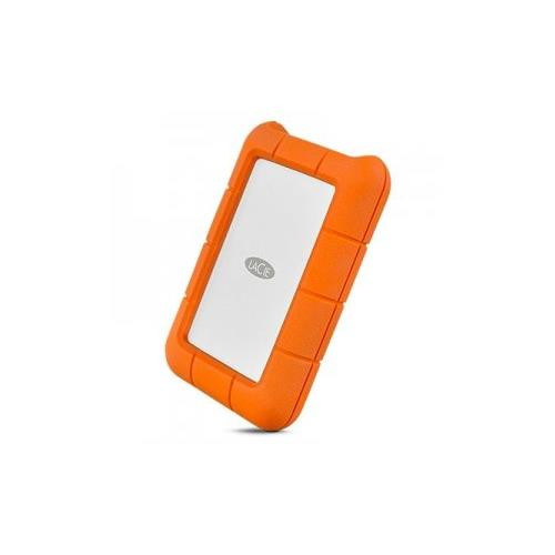 Seagate - STFR1000400 - LaCie Rugged 1 TB External Hard Drive - USB 3.0 - Portable - Orange - Retail