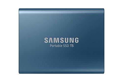 Samsung T5 Portable SSD - 250GB - USB 3.1 External SSD (MU-PA250B/AM)