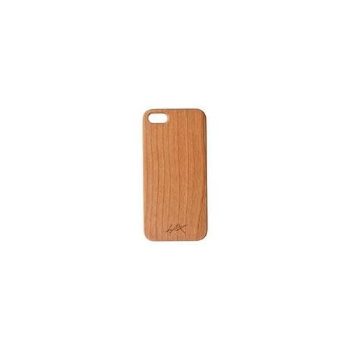 LAX Gadgets Natural Wood Series Cherry Case for iPhone 5s/5 - Retail Packaging - Cherry Wood