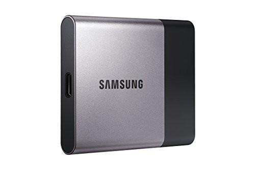 Samsung T3 Portable 1 TB USB 3.0 External SSD (MU-PT1T0B/AM)