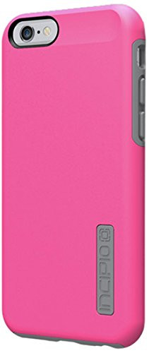 iPhone 6S Case, Incipio DualPro Case [Shock Absorbing] Cover fits both Apple iPhone 6, iPhone 6S - Pink/Gray