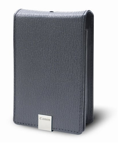 Canon PSC-1000 Deluxe Grey Leather Case for the Canon SD1000, SD1100IS, SD770...