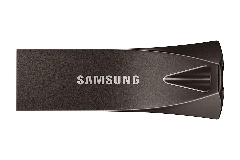 Samsung BAR Plus 256GB - 200MB/s USB 3.1 Flash Drive Titan Gray (MUF-256BE4/AM)
