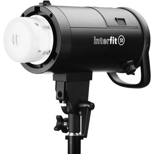 Interfit S1 500Ws HSS TTL AC and Battery-Powered Off-Camera Flash,