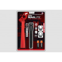 Mini MAGLITE 2-Cell AA LED Flashlight Safety Pack (153-000-639)