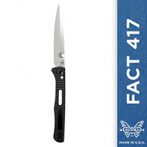 Benchmade - FACT 417 Knife, Spear-point