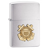 Zippo Coast Guard Emblem Pocket Lighter