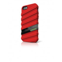 Musubo MU11020RD HyperGrip Case for iPhone 5 -  Red