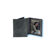 TAP Folders AVANTI Top Loading for 5x7 Prints -Black Marble/Gold- (100 Pack)