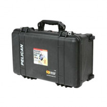 Pelican Medium Carry On Case with Padded Divider WITH PADDED DIVIDERS - 13.82 x 9 x 22 - Black (1510-004-110)