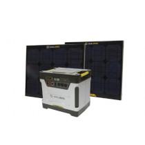Goal Zero 39004 Yeti 1250 Silver/Black XX-Large Solar Generator Kit