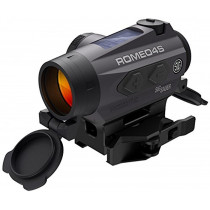 Sig Sauer Romeo4S Compact Red-Dot Sight with Solar Cell Circle Dot Reticle Graphite Md: SOR43021