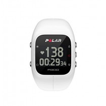 Polar A300 Fitness and Activity Monitor With  Heart Rate Monitor, White