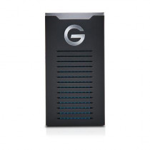 G-Technology 1TB G-Drive mobile SSD R-Series - USB-C connectivity (USB 3.1 Gen 2) - 0G06053