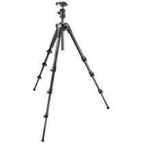 Manfrotto MKBFRA4-BH Compact Lightweight Tripod for Travel Photography (Black)