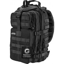 Barska Loaded Gear GX-400 Crossover Low Profile Backpack, Black