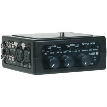 Azden FMX-DSLR Portable Audio Mixer for Digital-SLR Camera