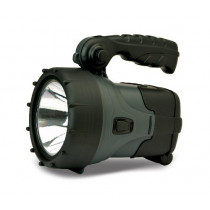 Cyclops Orbis 3-watt Rechargeable Spotlight, Black