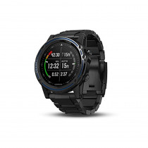 "Garmin 010-01760-01 Descent Mk1, 1.2"", Gray with DLC Titanium Band"