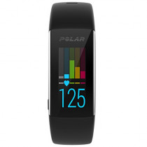 "Polar A360 Fitness Tracker, Small/5-6.6"", Black"