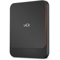 LaCie 2TB Seagate Portable External USB3.0 Solid State Drive - Orange, Black