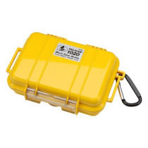 Pelican 1020 Yellow Micro Case With Yellow Lid