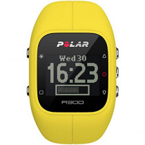 Polar A300 Fitness and Activity Tracker without Heart Rate Monitor, Yellow