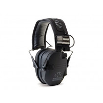 Walker's Razor Patriot Electronic Earmuffs (NRR 23dB) Black