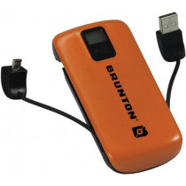 Brunton Metal 4400 Portable Charger, Orange F-METAL-OR