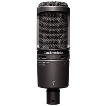 Audio-Technica AT2020USB PLUS Cardioid Condenser USB Microphone (4961310118747)