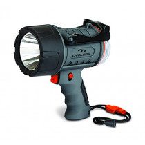 Cyclops 300 lm Rechargeable Waterproof Spotlight, Black