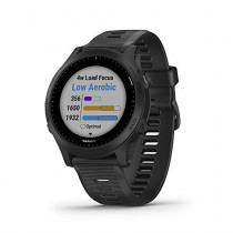 Garmin Forerunner 945, Premium GPS Running/Triathlon Smartwatch with Music, Black