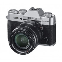 Fujifilm X-T30 Mirrorless Digital Camera w/XF18-55mm Kit - Silver (074101040203)