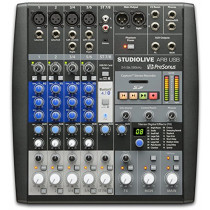 PreSonus StudioLive AR8 USB 8-Channel hybrid Performance and Recording Mixer  714573526675
