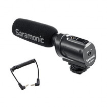 SARAMONIC SR-PMIC1 BATTERY-FREE ON-CAMERA SHOTGUN MICROPHONE (4897040886697)