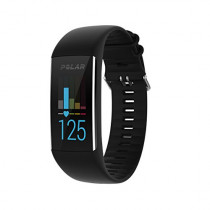 Polar A370 Fitness Tracker with 24/7 Wrist Based HR, Black, Medium/Large