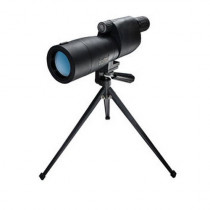 Bushnell Sentry 18-36 x 50mm Porro Prism Waterproof/Fogproof Spotting Scope with Tabletop Tripod, Black (029757783608)