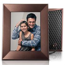 "Nixplay Iris 8"" Wi-Fi Cloud Frame (W08E- Burnished Bronze)"