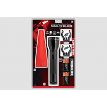 MAGLITE ML300L 2-Cell D LED Flashlight Safety Pack (150-000-453)